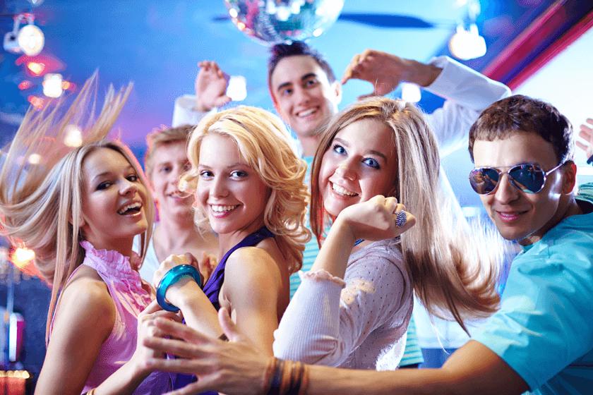 buli, rendezvény, party